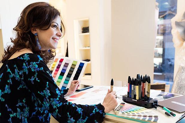 Tiziana Sidoti fashion designer. Direttore creativo del brand Sidoti