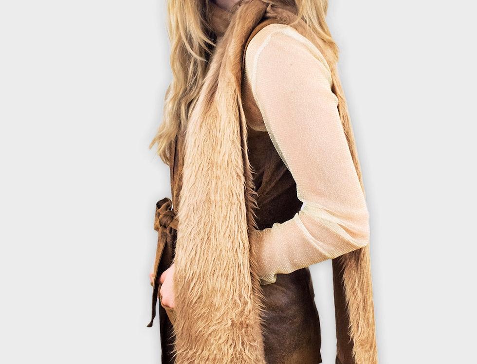 sciarpa, sciarpa pelosa, sciarpa anni 70, scarf,