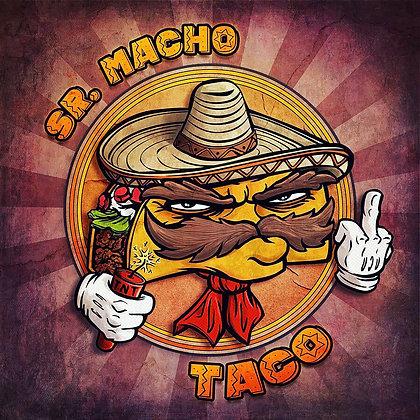 Sr. Macho Taco [Print]