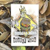 Double King Enamel Pin
