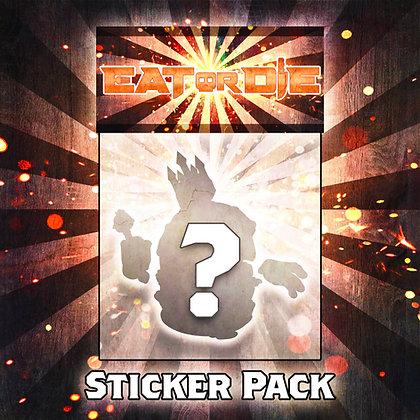 EAT or DIE Sticker Pack
