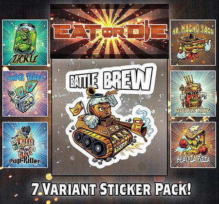 7 Variant Sticker Pack