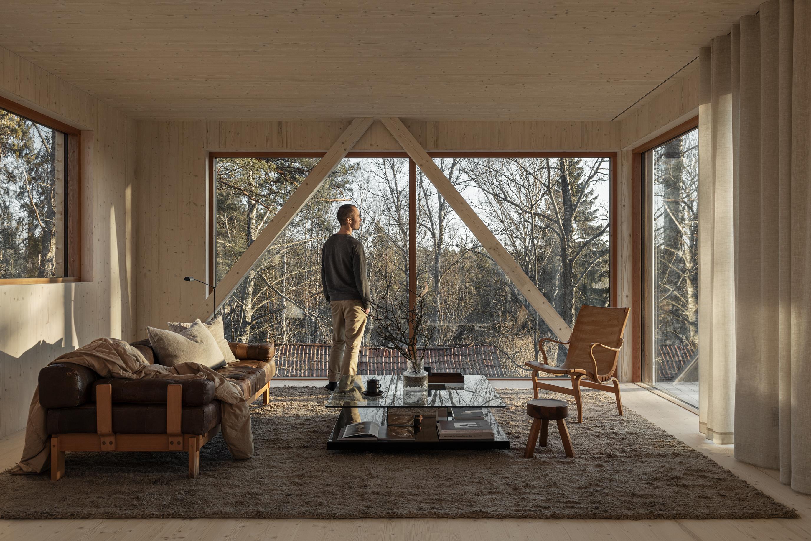 Villa Svartgarn, Residence