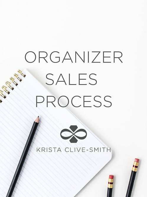 Professional Organizer Sales Process