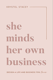 She minds her own business - Krystel Stacey
