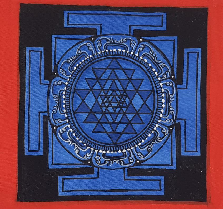 Shree Yantra Mandala