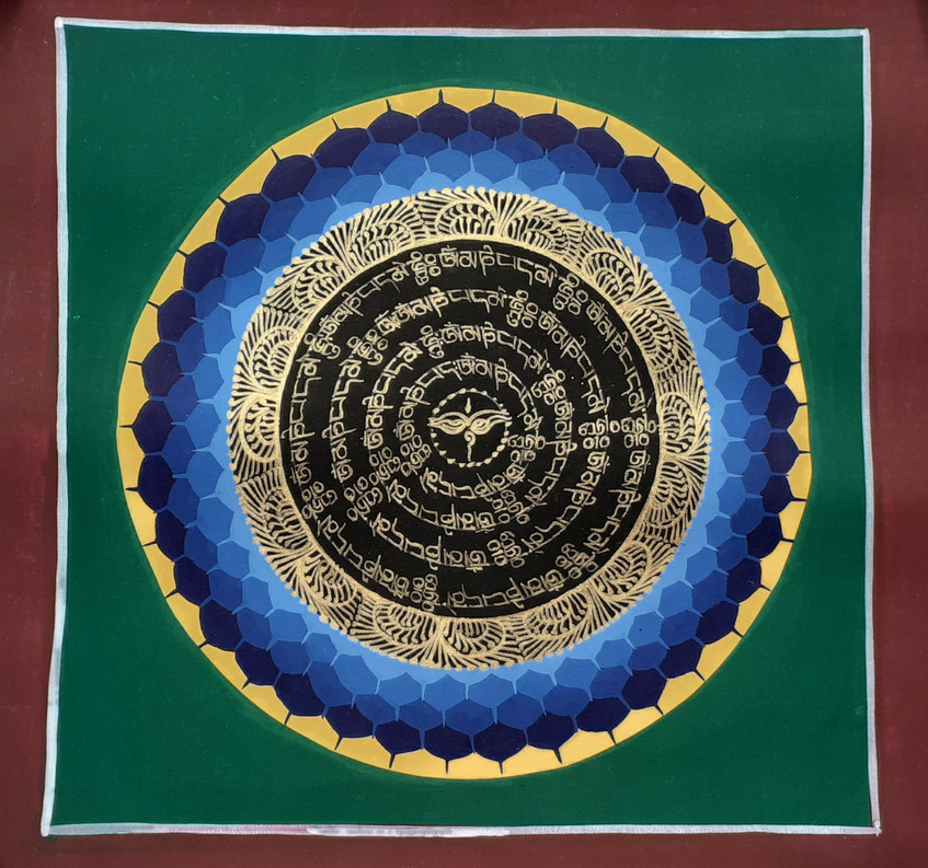 Yeux de Sagesse Mandala