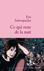 Nuit de la littérature - Ersi Sotiropoulos