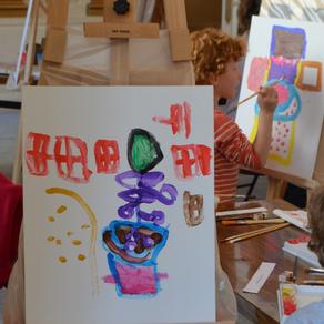 Master-classe en art appliqué pour enfants