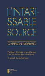 L'Intarissable source
