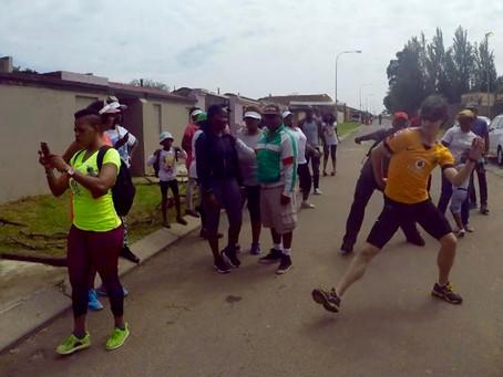 Foofwa d'Imobilité Soweto.Dancewalk. Interactions, Part One
