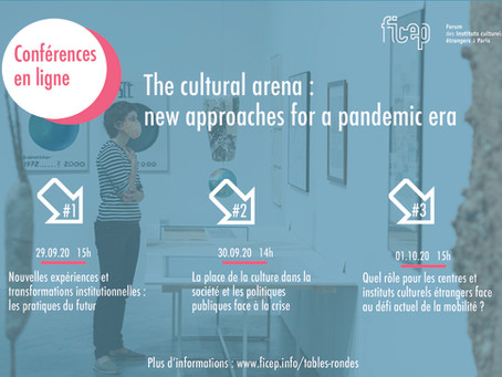 THE CULTURAL ARENA : NEW APPROACHES FOR A PANDEMIC ERA