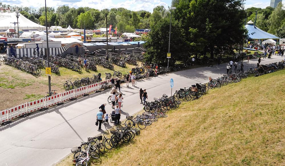 Munchen on paitsi autokaupunki, myös pyöräilijöille hyvä paikka.