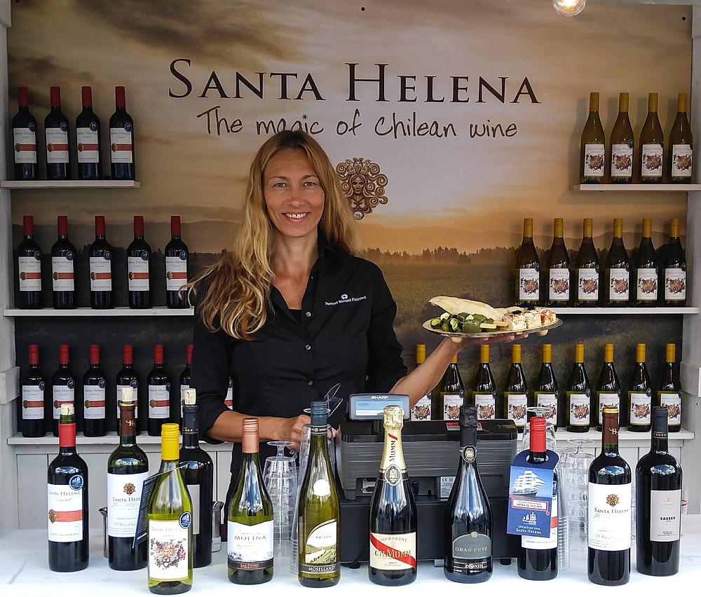 Santa Helena viinit Chilestä