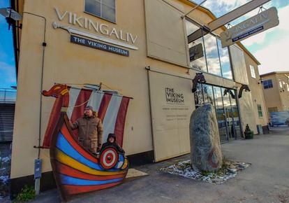 Viikinkimuseo Vikingaliv Tukholmassa