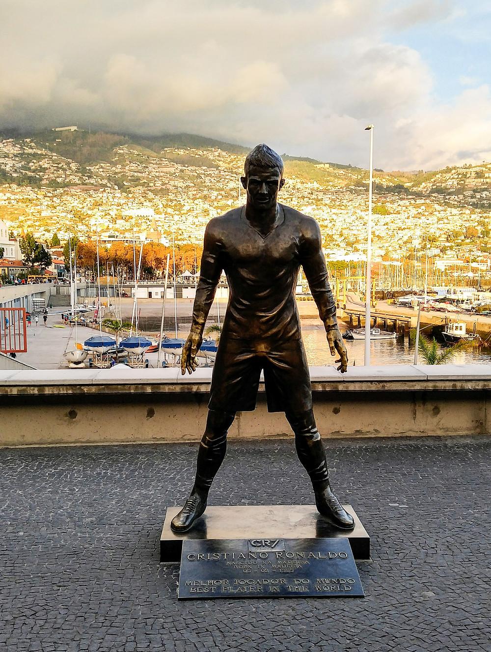 Cristiano Ronaldo, Funchal, Madeiraa