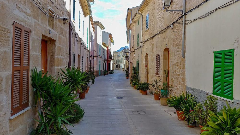 Alcudia vanhakaupunki, Mallorca