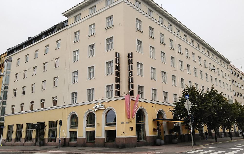Hotel Helka is located in Helsinki city center