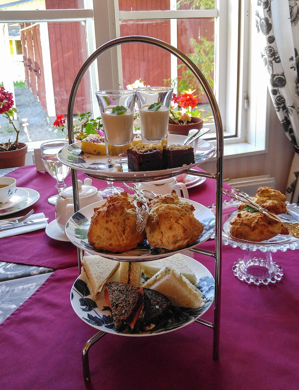 Anna Grotenfelt-paunonen, Tea House of Wehmais