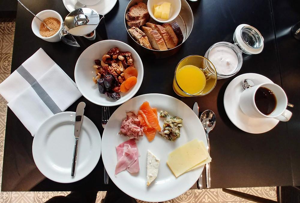 Hotel St. George Helsinki breakfast