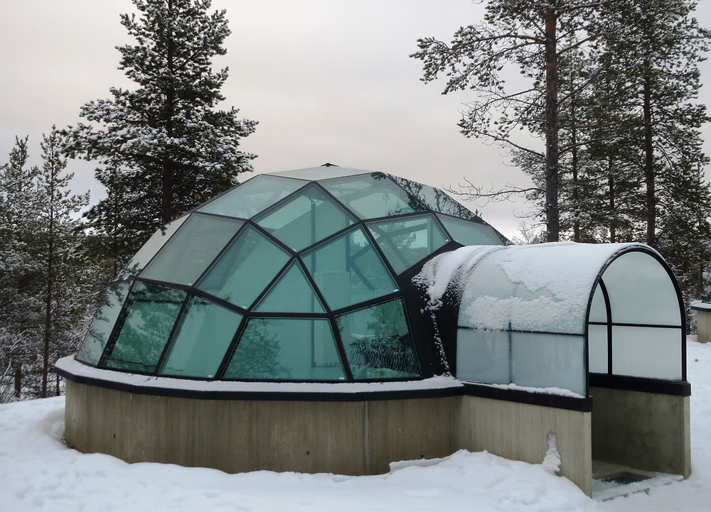 Glass Igloo at Kakslauttanen Arctic Resort