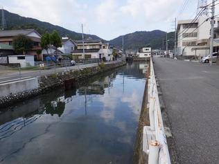 河改第5-4-1号 竹島川河川改修工事を受注