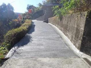 大畑井コウネ線舗装改修工事が完成