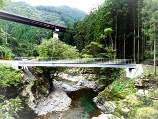 細野橋橋梁災害復旧工事が完成しました