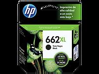 CARTUCHO ORIGINAL DE TINTANEGRO HP 662XL (CZ105AL)