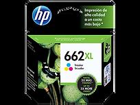 CARTUCHO ORIGINAL DE TINTA TRICOLOR HP 662XL (CZ106AL)
