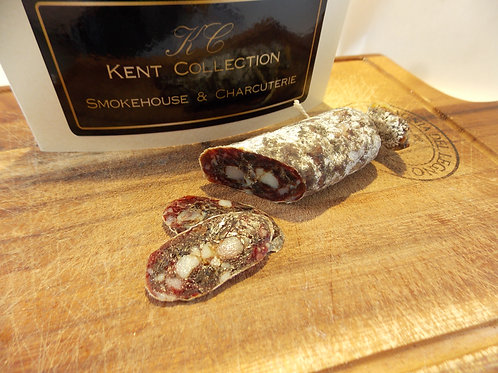 wild garlic salami