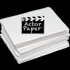 Actor Paper