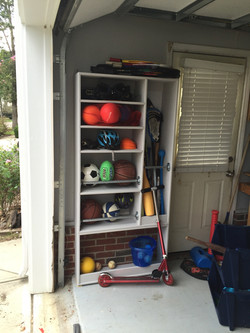 Garage storage (after)
