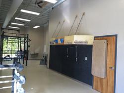 hangboard station
