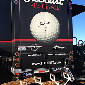 Titleist Tour Van