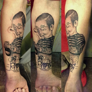 Tatted Boy
