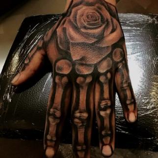 Skeleton fingers