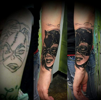 Catwoman cover up