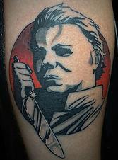 Holloween Jason Tattoo