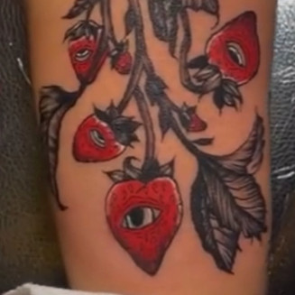 All seeing strawberries