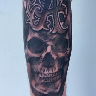 """""""A"""" skull"""