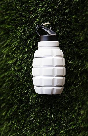 Light Grey Water Bottle