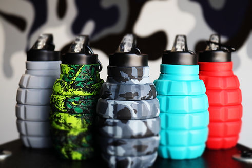 Food Grade Silicone Water Bottle
