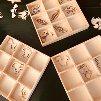 Tic tac toe games used as a practice tool for harp lessons and piano lessons