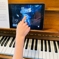 Note Rush App--game used to learn note reading