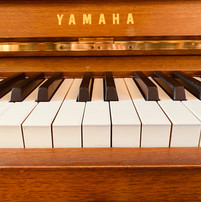 Piano used for piano lessons at Harp on the Hill Studio