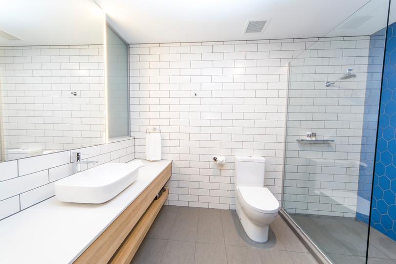 Westwaters Hotel Bathroom Design