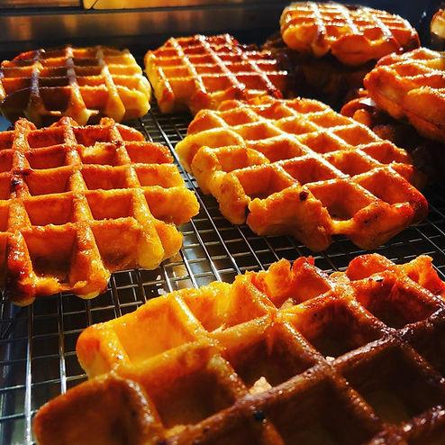 waffles in sunlight close up.jpg