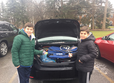 Cole and Dean Kirchick Give Back in a Big Way