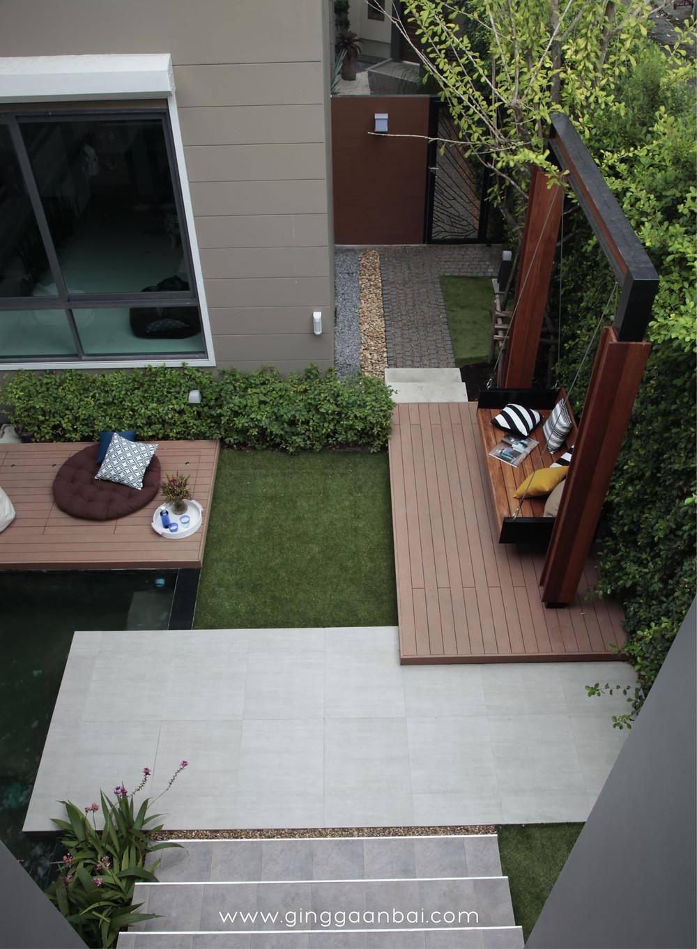 กิ่ง ก้าน ใบ จัดสวน ออกแบบสวน